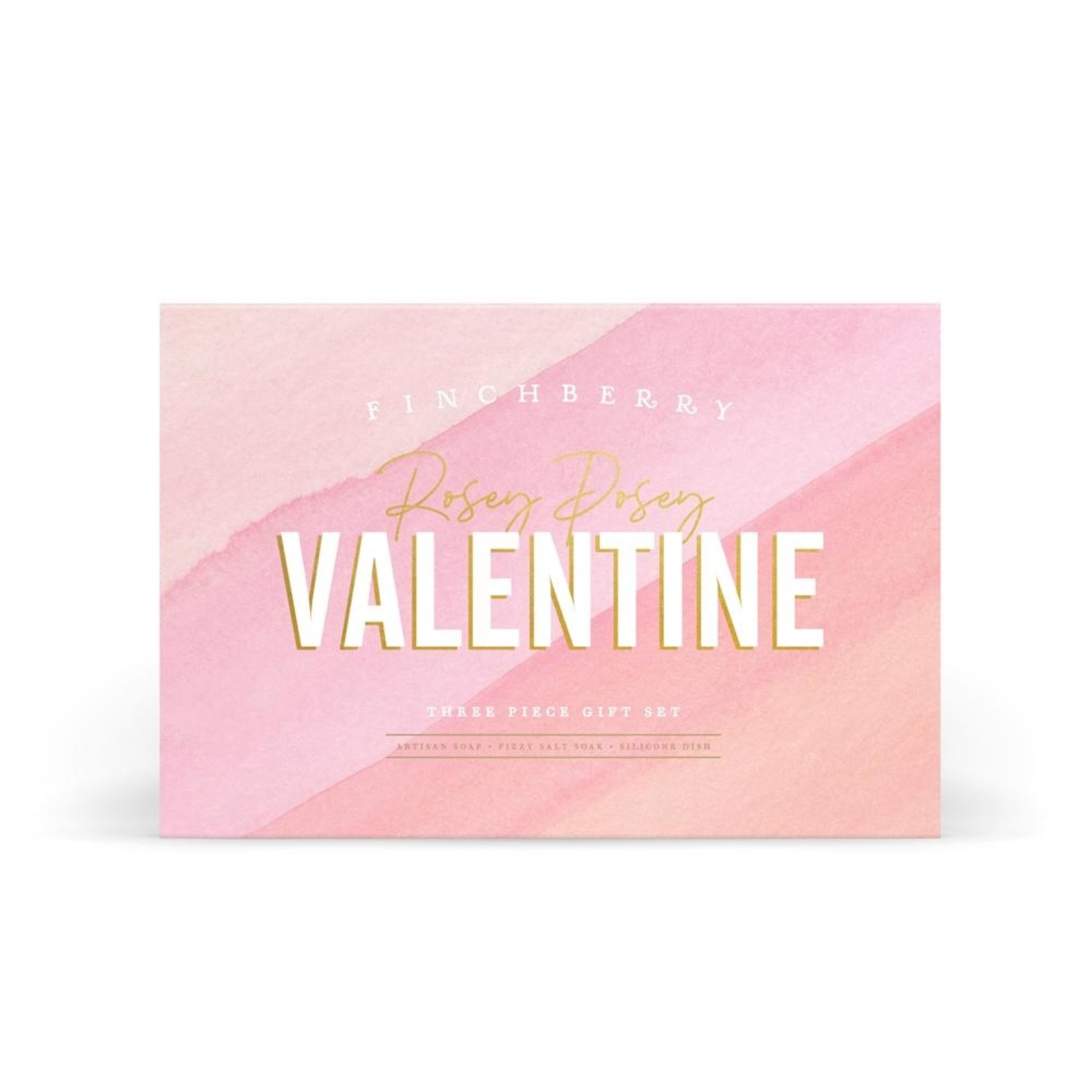 FinchBerry Soapery Rosey Posey Valentine's Day Gift Set