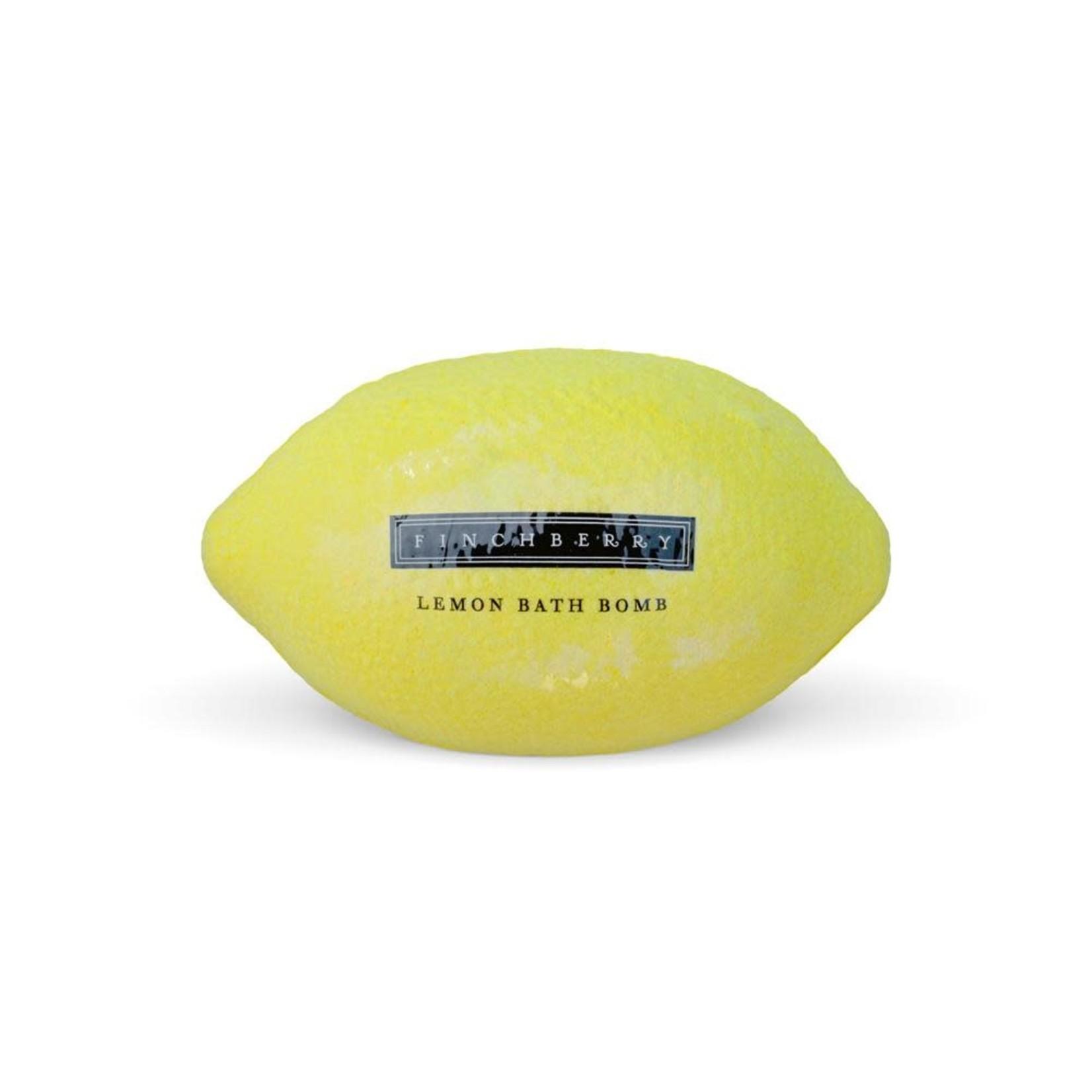 FinchBerry Soapery Lemon Bath Bomb