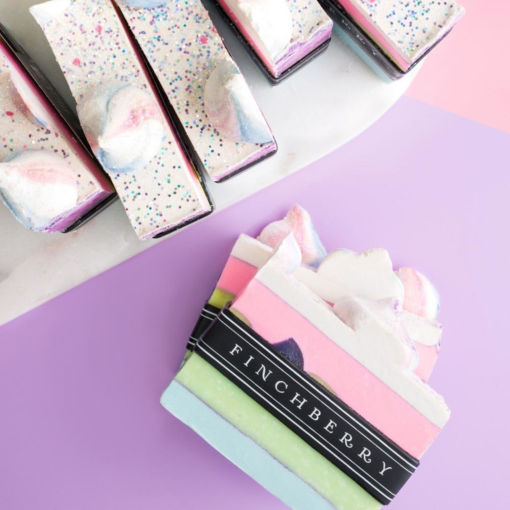 FinchBerry Soapery Darling - Handcrafted Vegan Soap