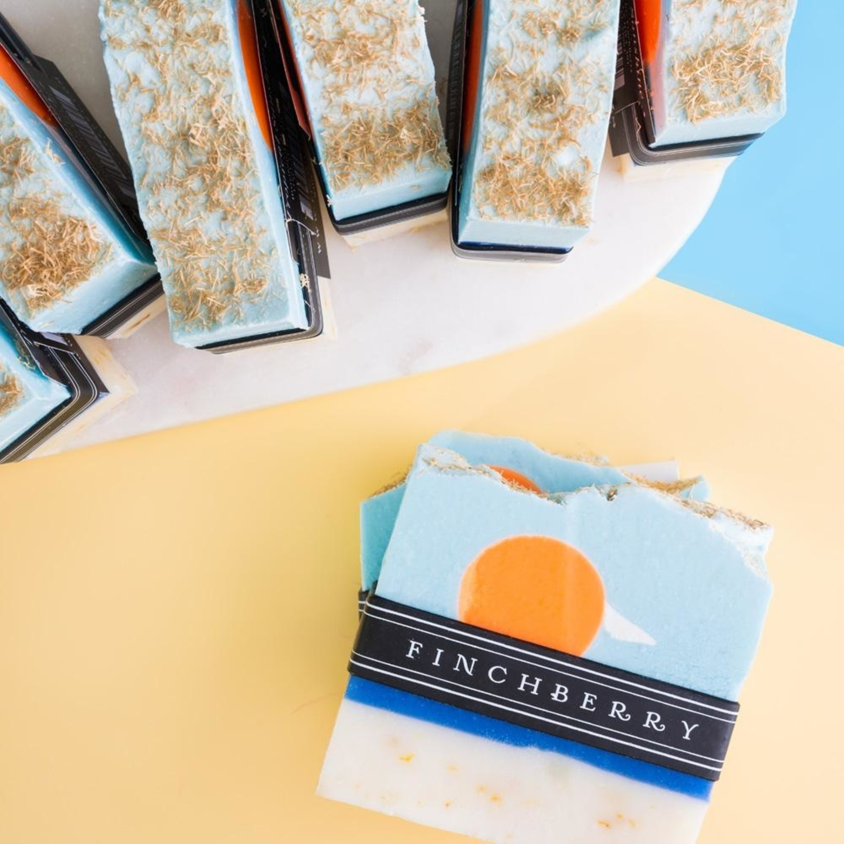 FinchBerry Soapery Tropical Sunshine - Handcrafted Vegan Soap