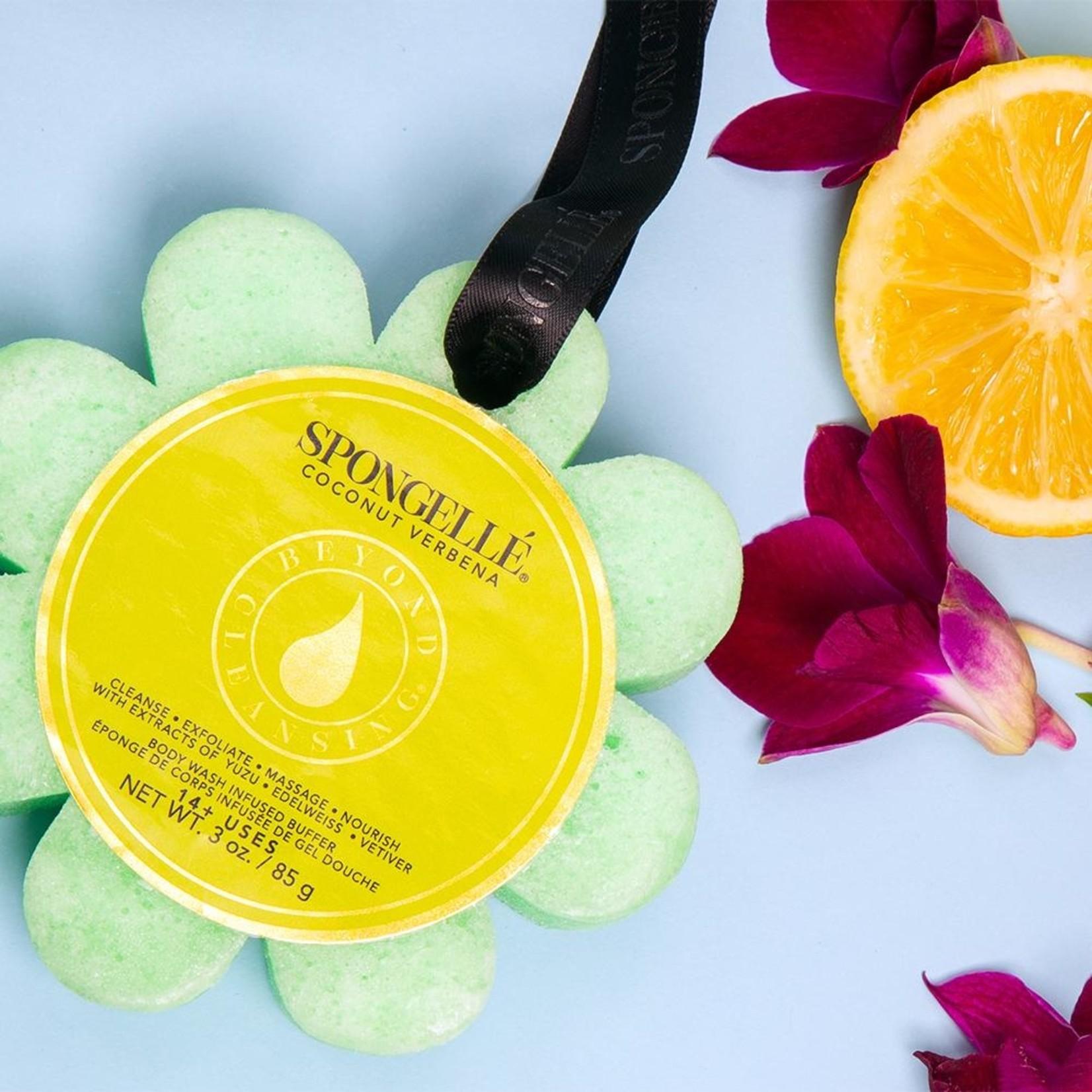 Spongelle Coconut Verbena   Wild Flower Soap Sponge