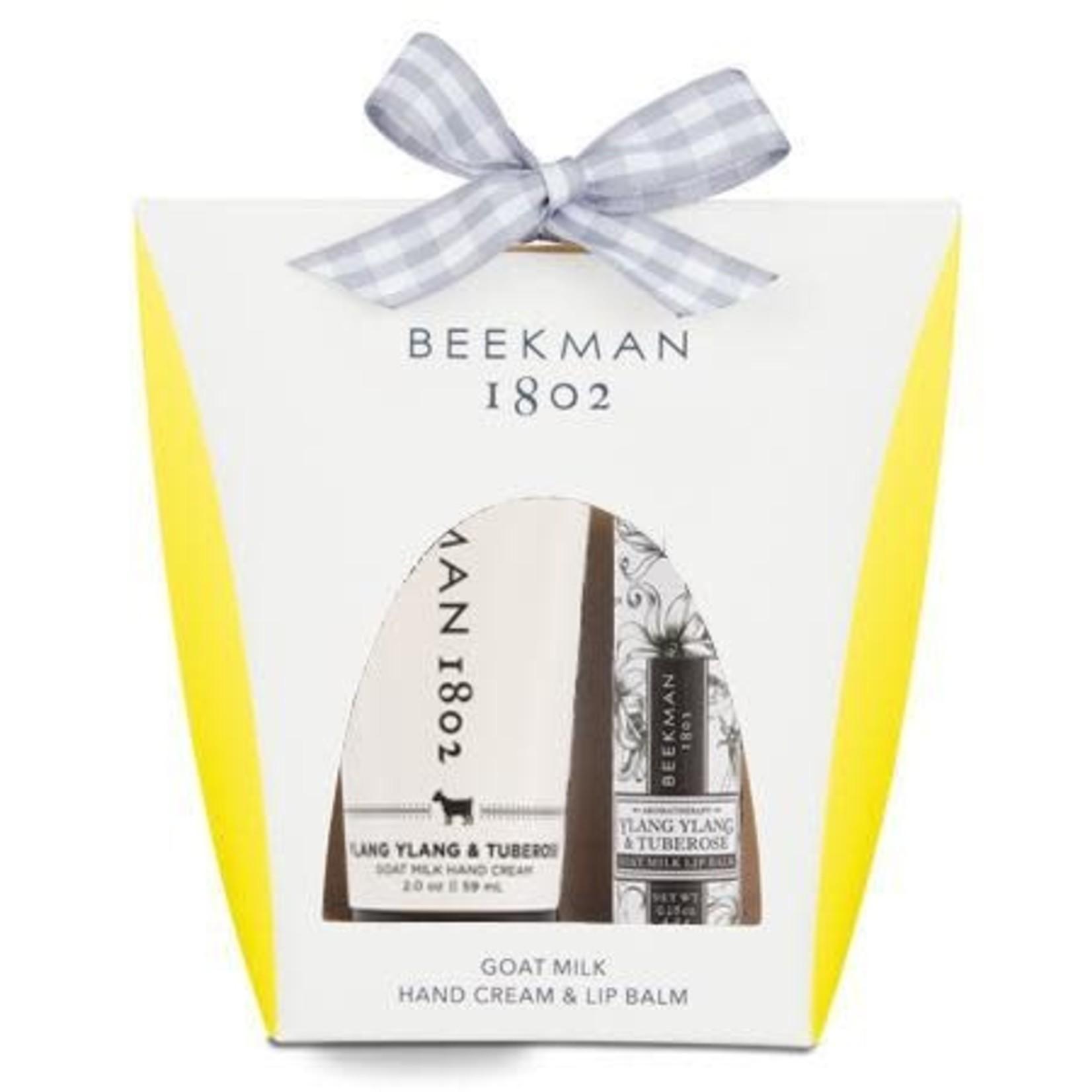 BEEKMAN 1802 Ylang Ylang & Tuberose Hand & Lip Hydration Kit