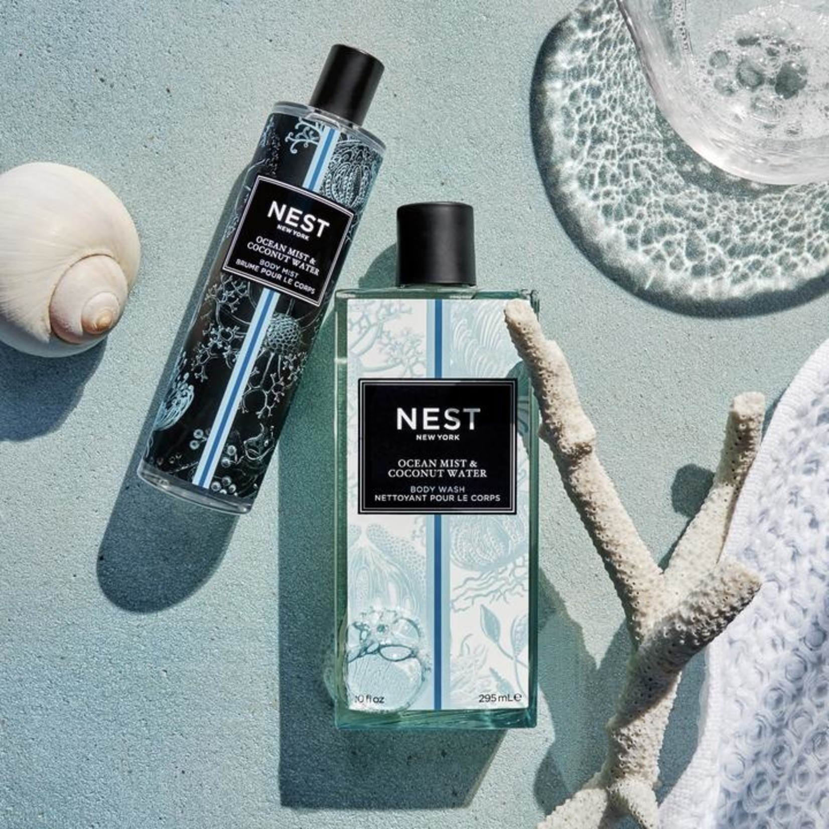 NEST NEW YORK Ocean Mist & Coconut Water Body Wash