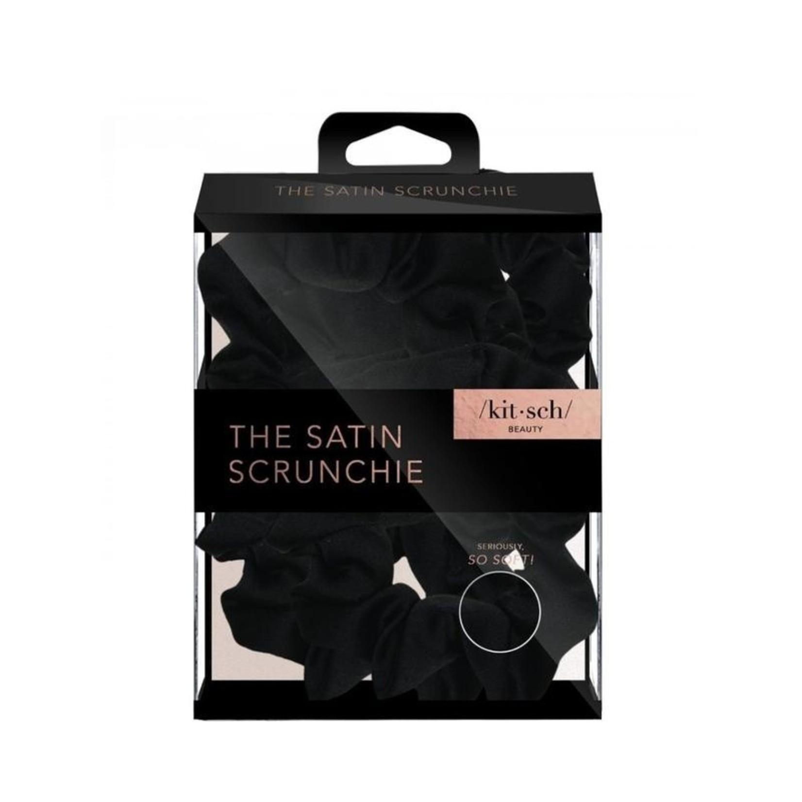 /KIT•SCH/ Satin Sleep Scrunchies