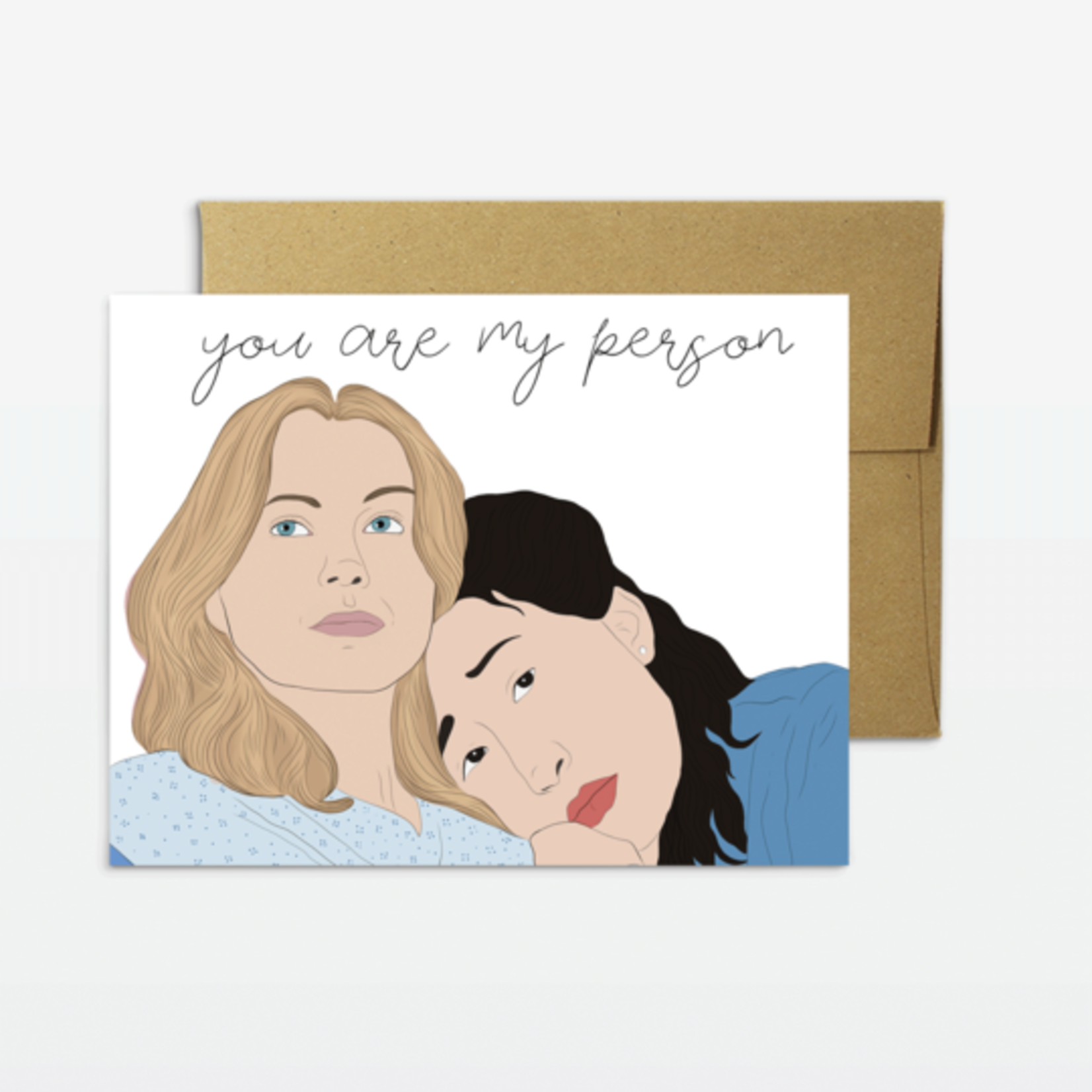 Party Mountain Paper Co. You're My Person Card