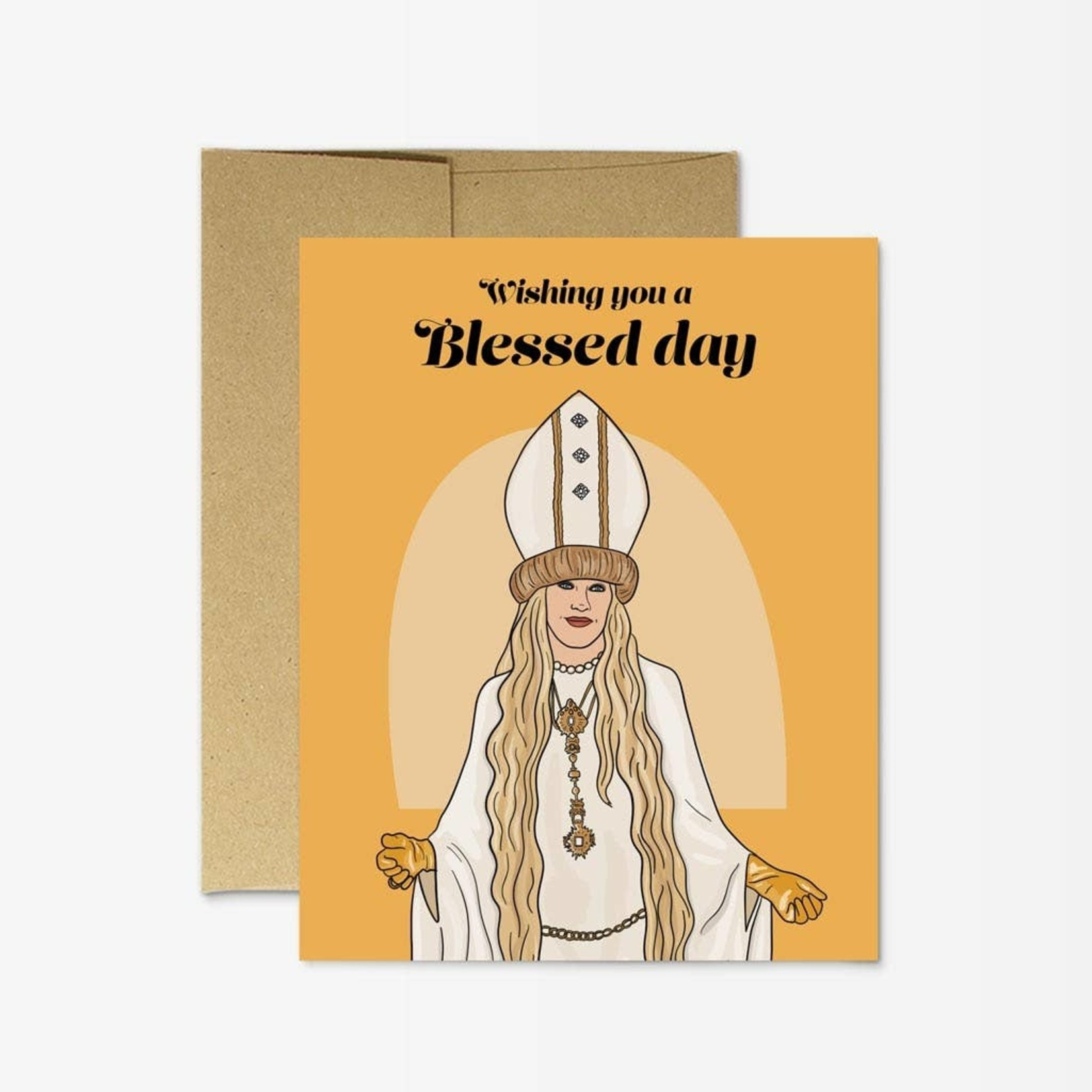 Party Mountain Paper Co. Moira Blessed Card