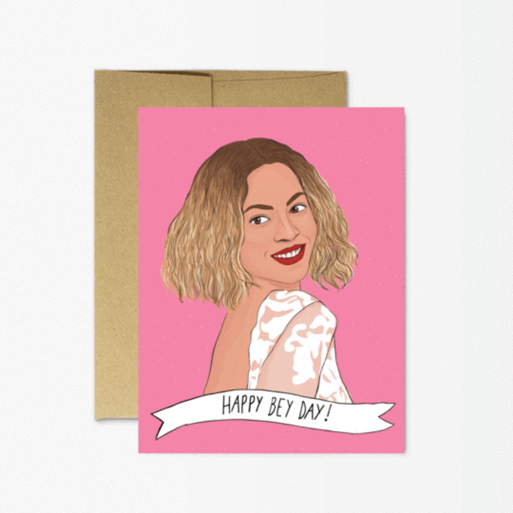 Party Mountain Paper Co. Happy Bey-day Card