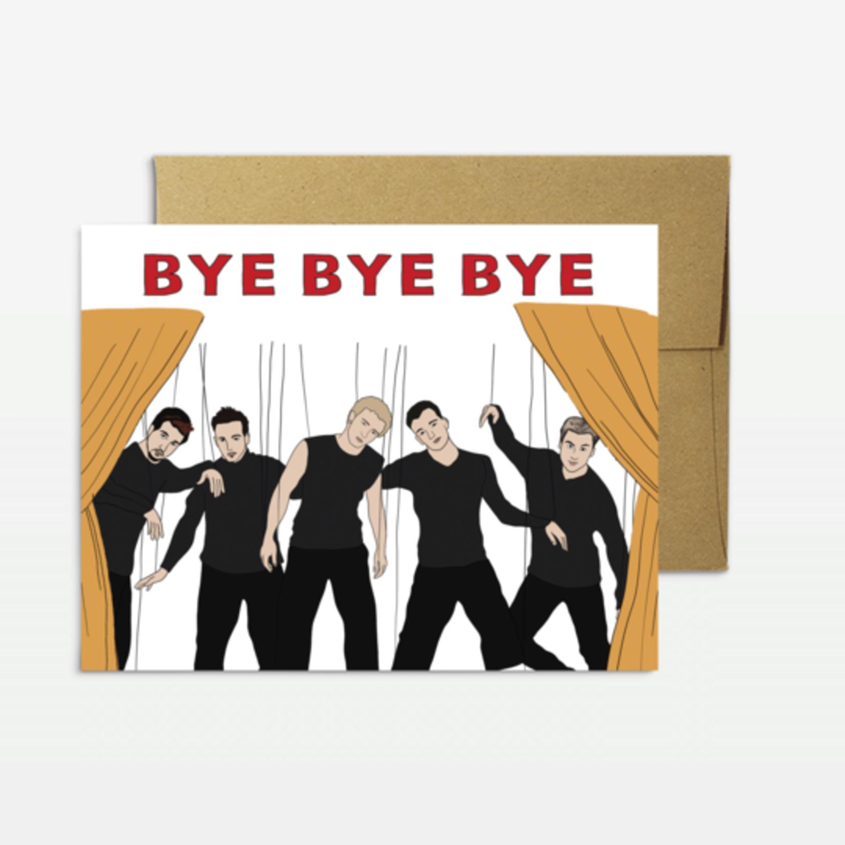 Party Mountain Paper Co. Bye Bye Bye Card