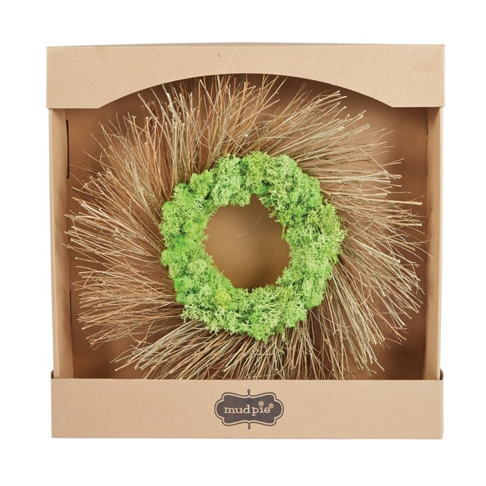 Mud Pie Moss and Twig Wreath