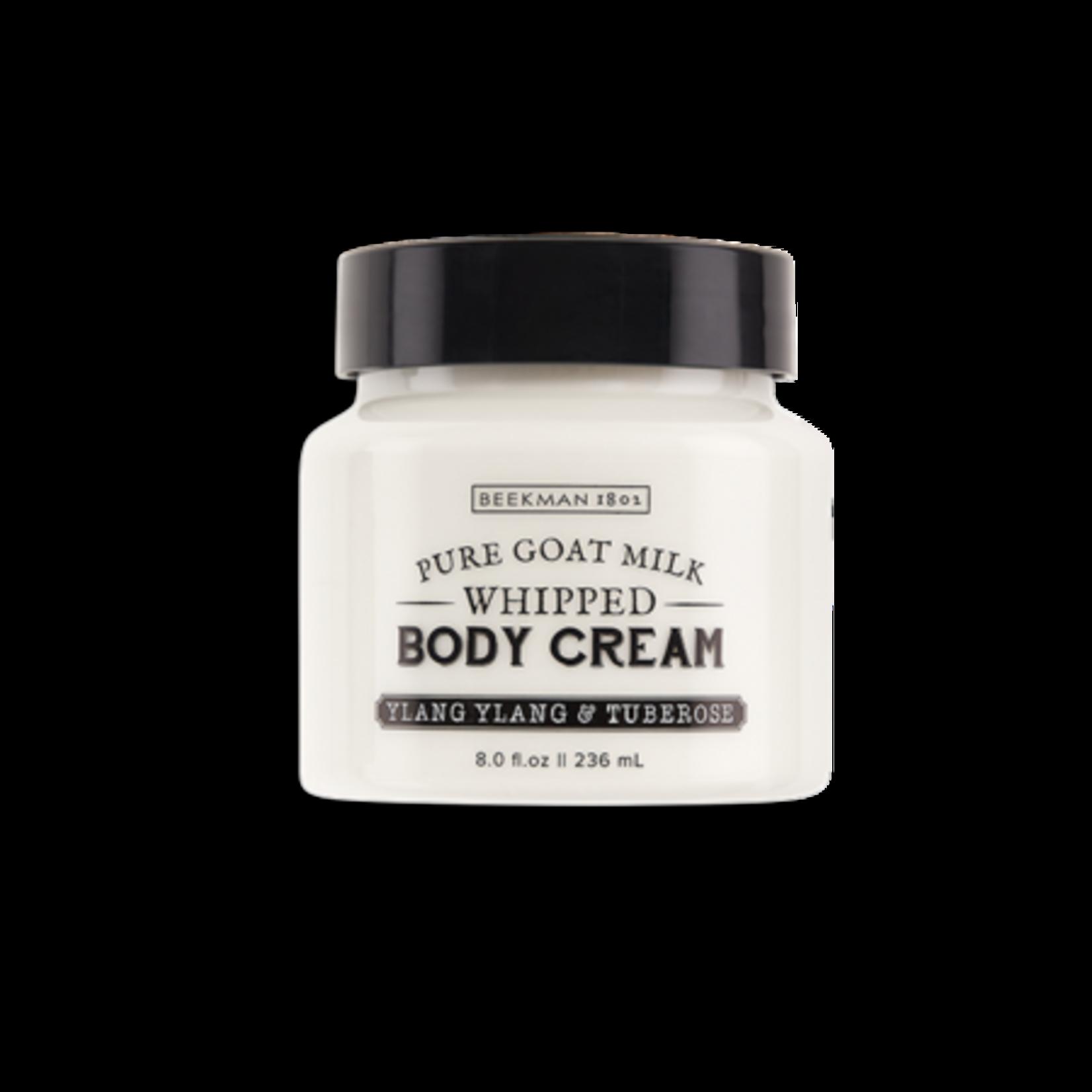 BEEKMAN 1802 Ylang Ylang & Tuberose Whipped Body Cream