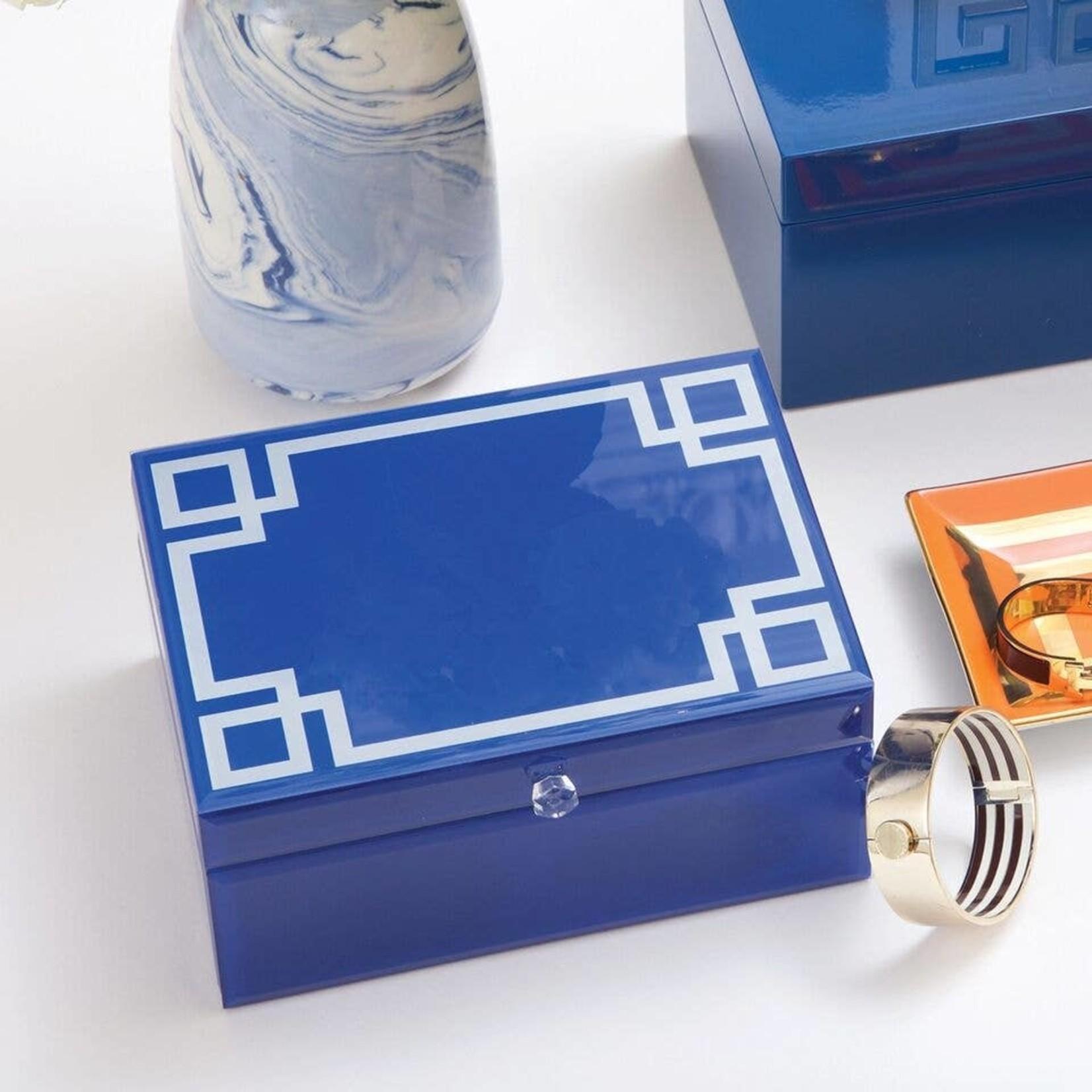 8 Oak Lane Greek Key Jewelry Box