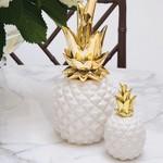 8 Oak Lane Small White Pineapple Figurine