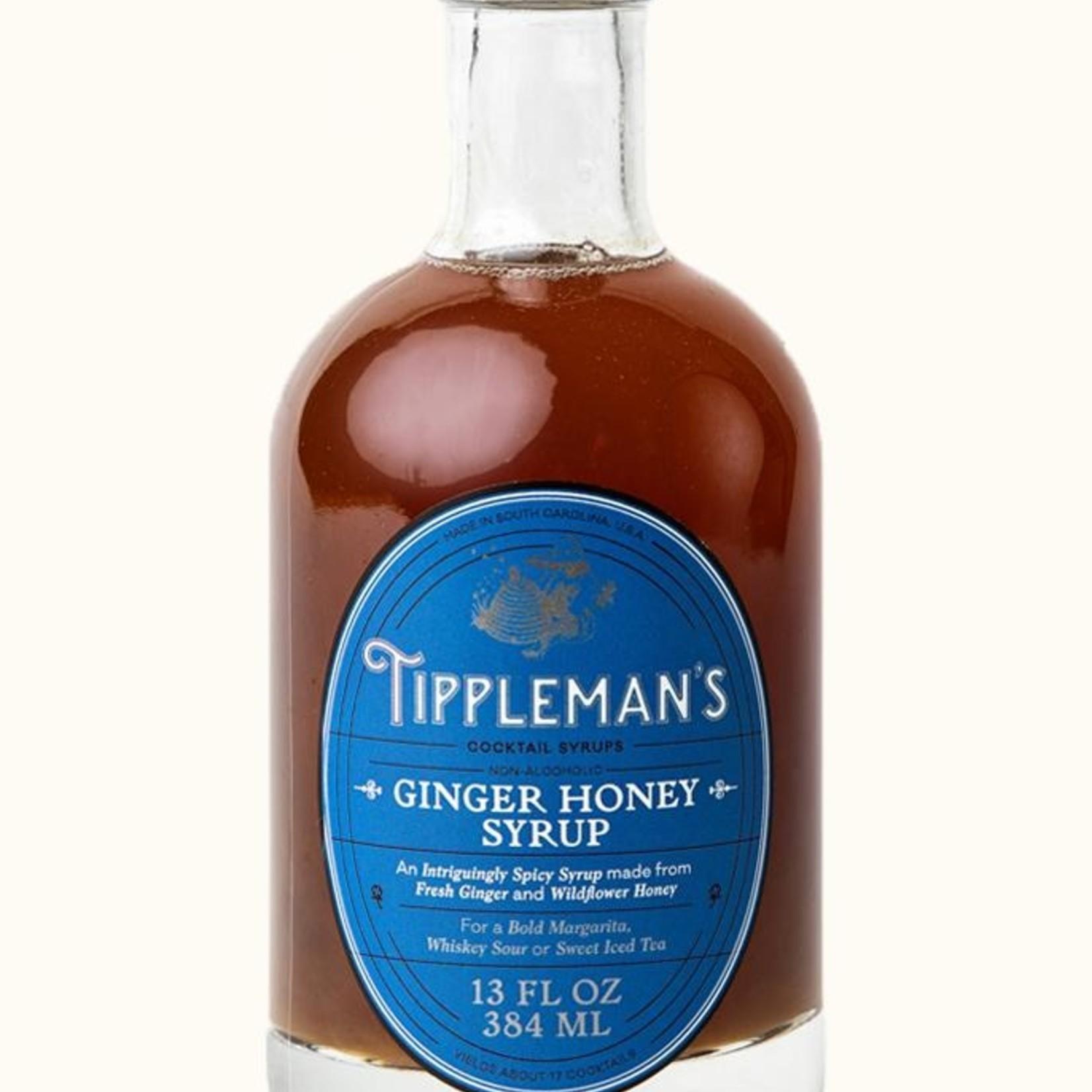 Tippleman's Ginger Honey Syrup
