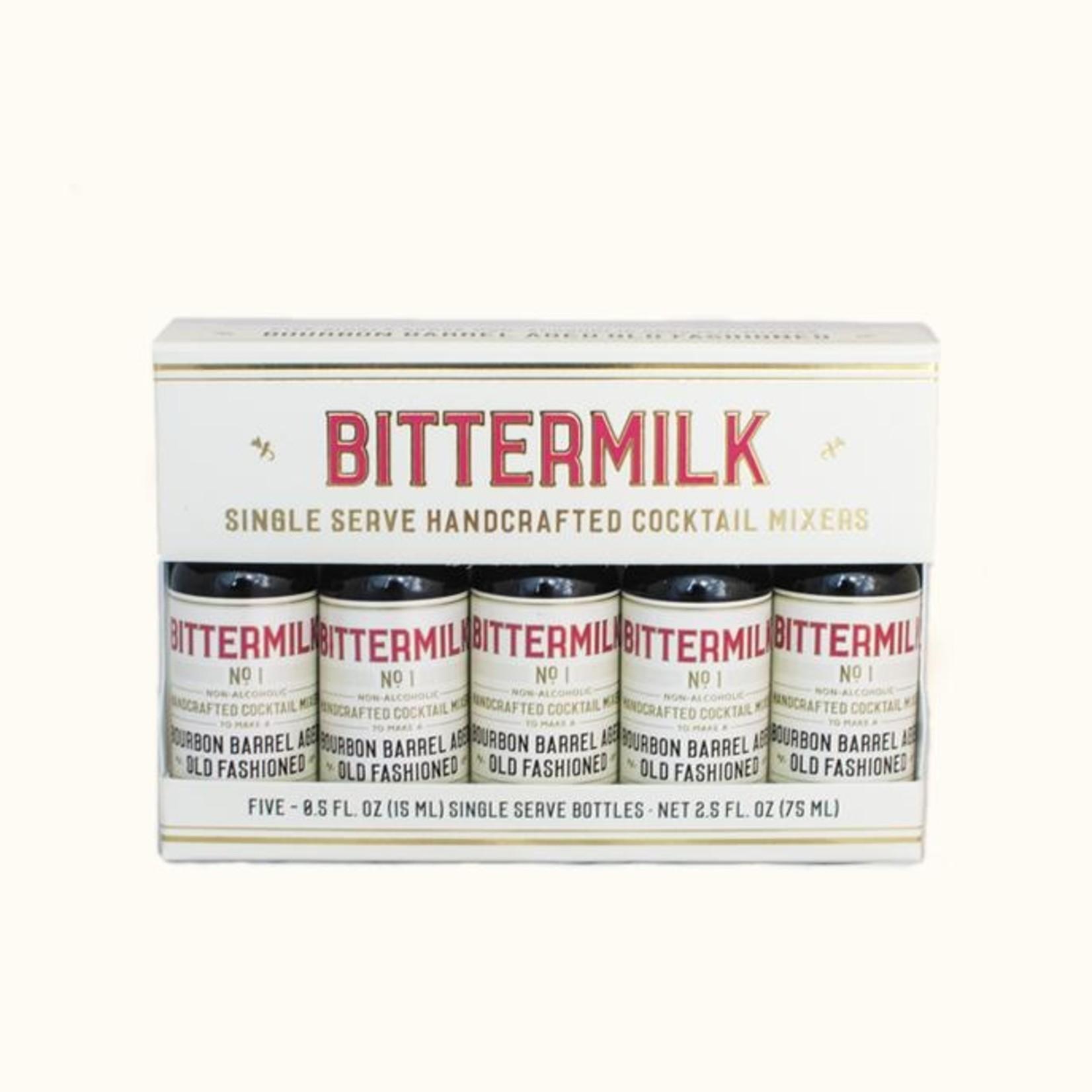 Bittermilk Single Serve Bourbon Barrel Aged Old Fashioned 5-pack