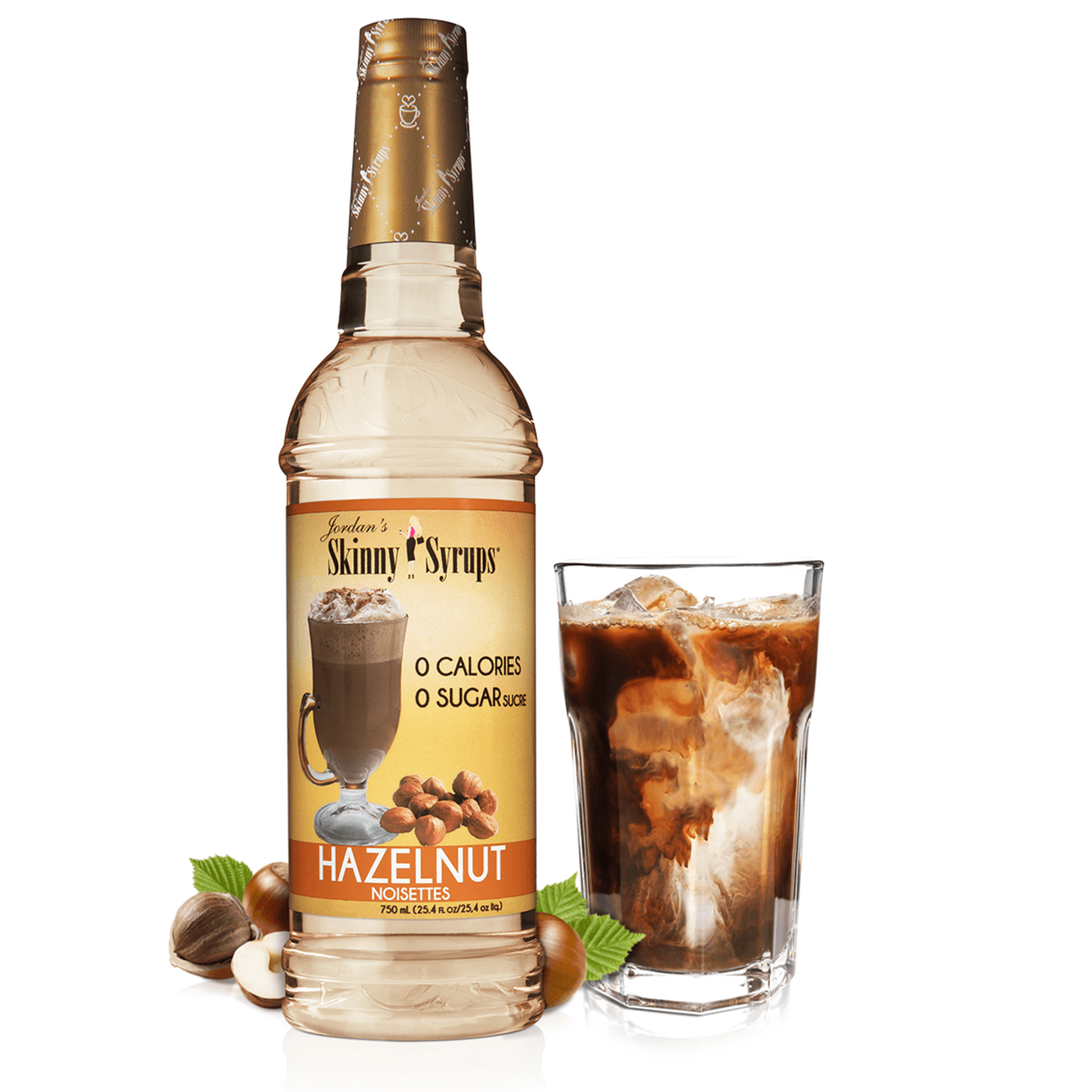 Jordan's Skinny Mixes Sugar Free Hazelnut Syrup