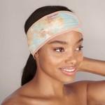 /KIT•SCH/ Microfiber Spa Headband - Sunset Tie Dye
