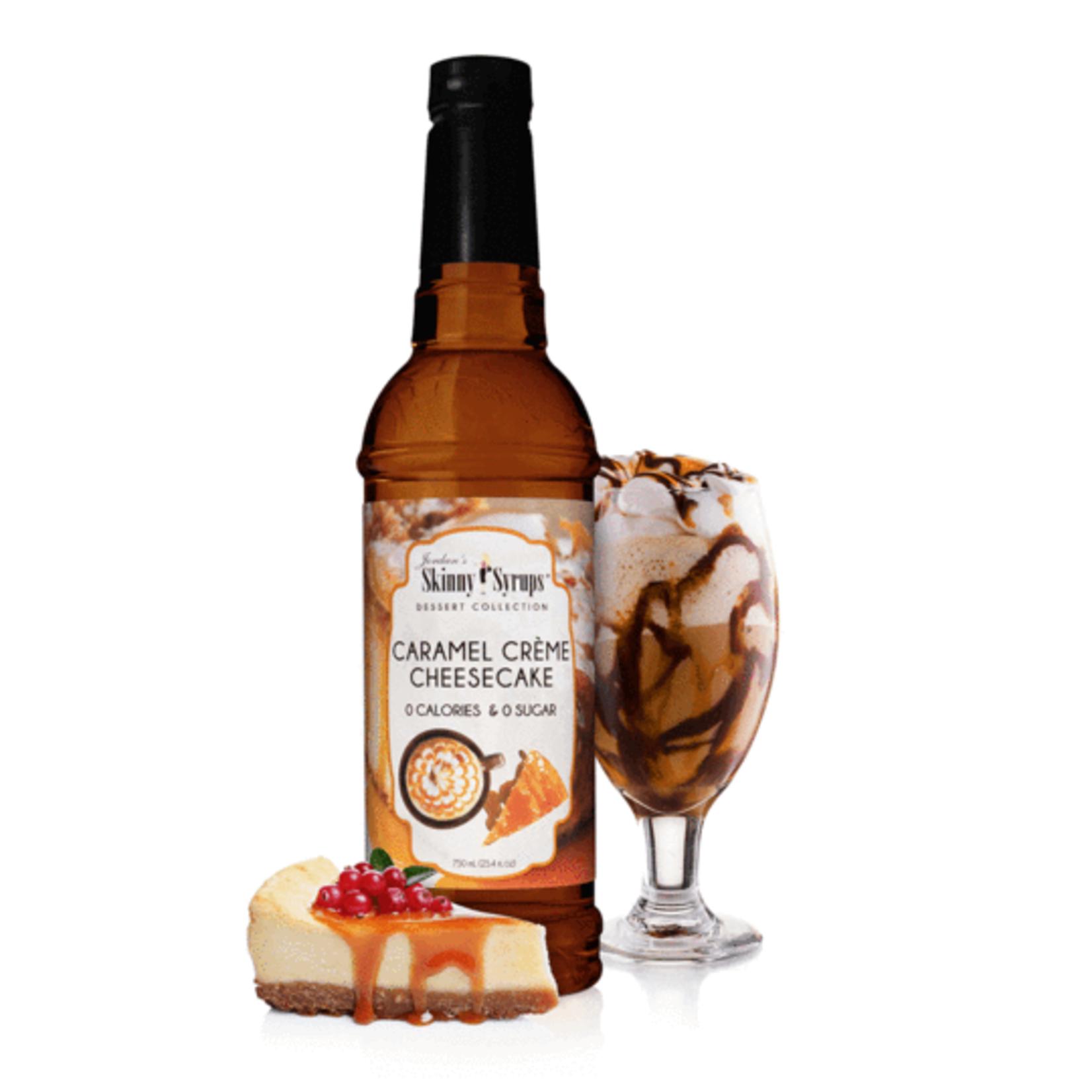 Jordan's Skinny Mixes Skinny Caramel Creme Cheesecake Syrup