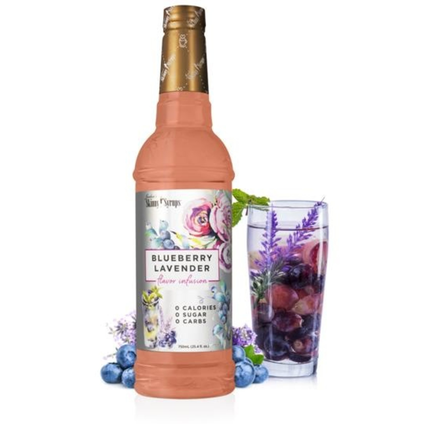 Jordan's Skinny Mixes Sugar Free Blueberry Lavender Syrup