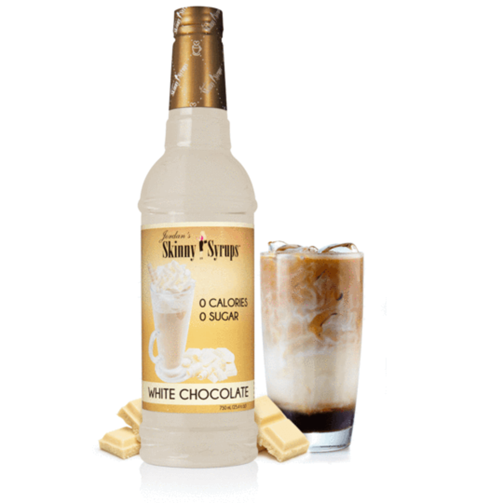 Jordan's Skinny Mixes Sugar Free White Chocolate Syrup