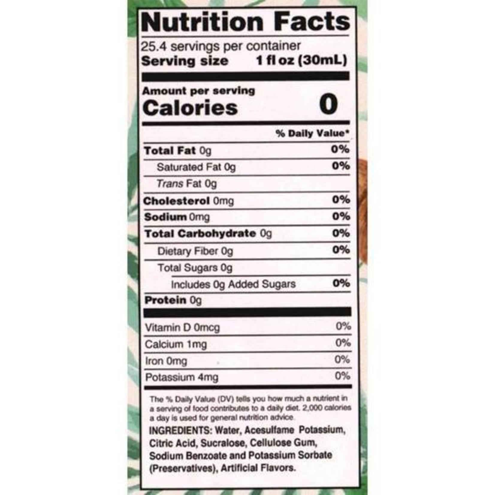 Jordan's Skinny Mixes Sugar Free Coconut Syrup