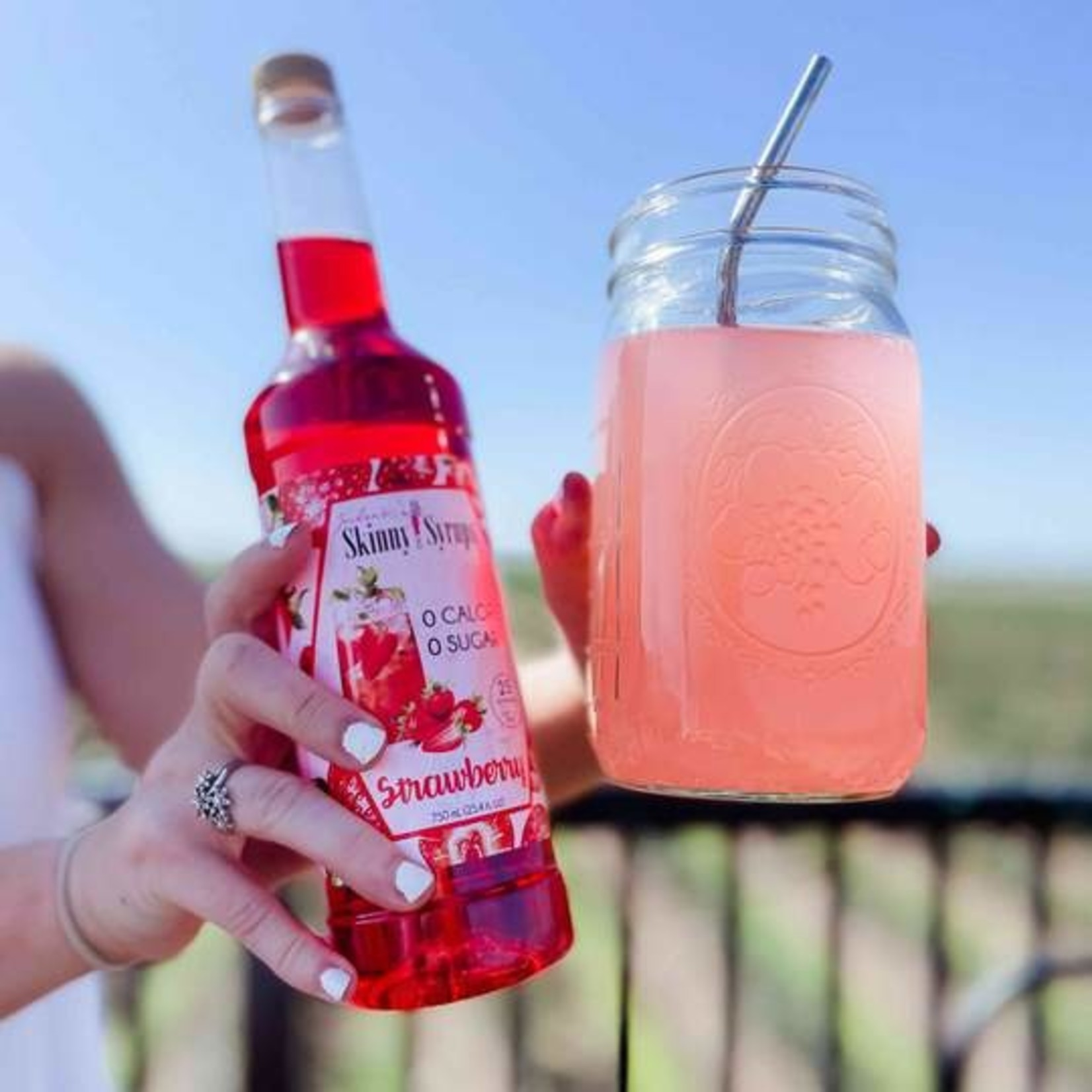 Jordan's Skinny Mixes Sugar Free Strawberry Syrup