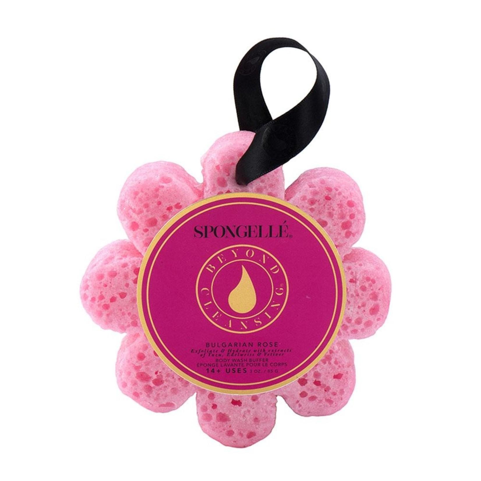Spongelle Bulgarian Rose   Wild Flower Bath Sponge