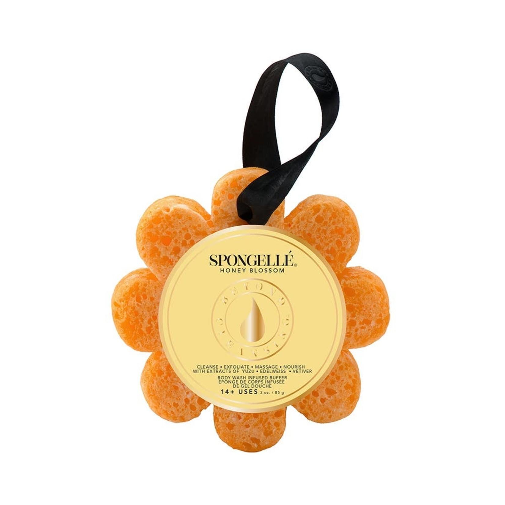 Spongelle Papaya Yuzu | Wild Flower Bath Sponge