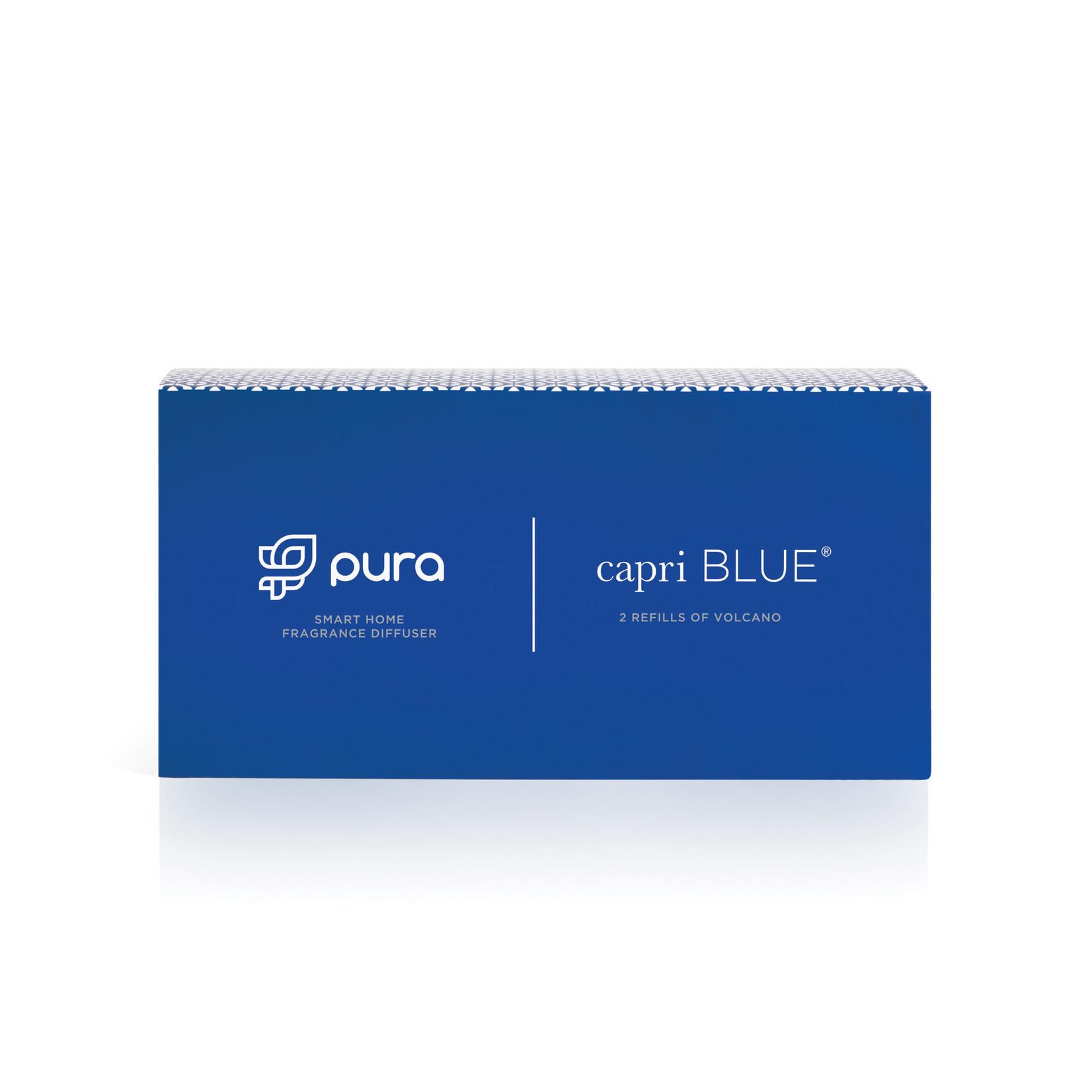 capri BLUE® CB + Pura Smart Home Diffuser Kit, Volcano