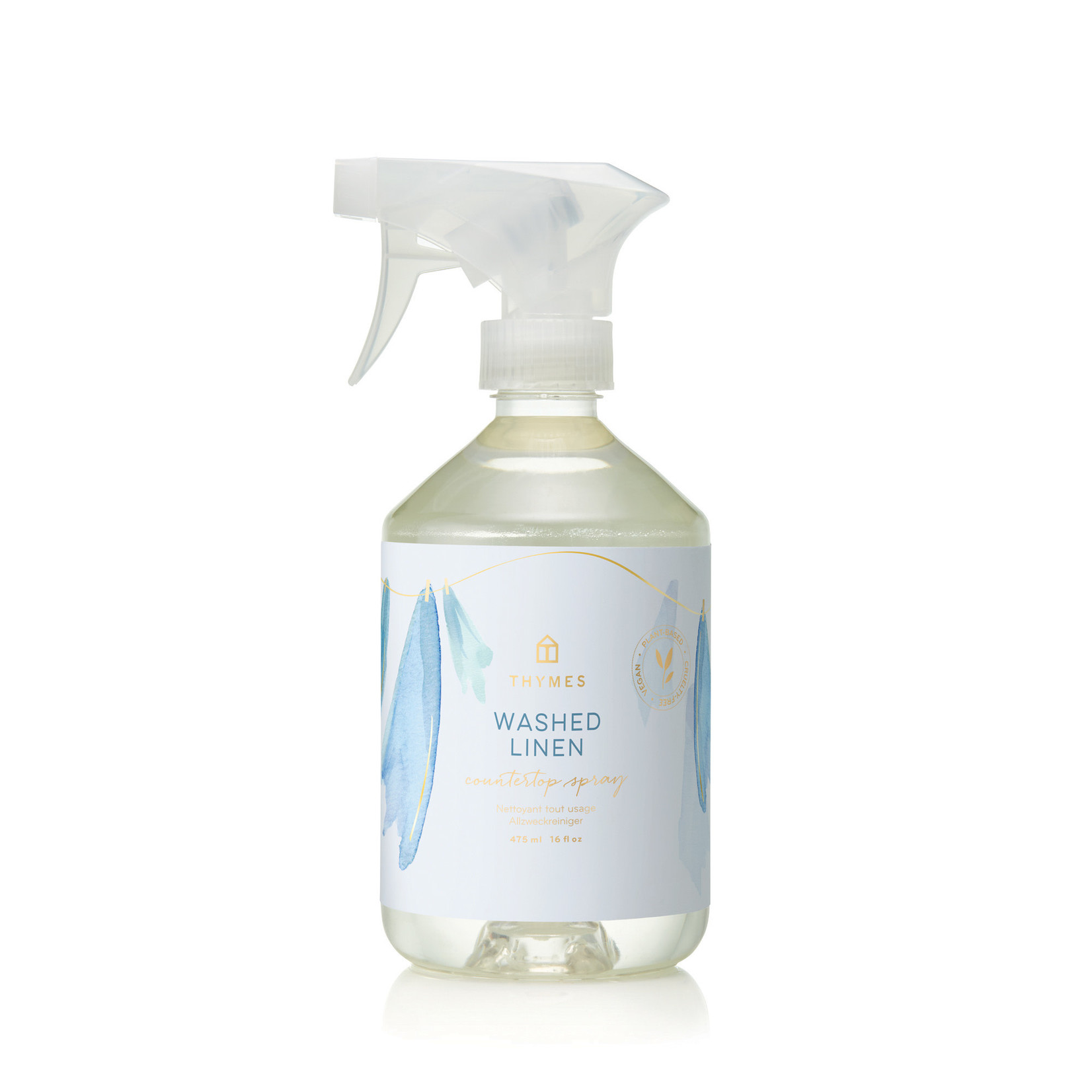 Thymes Washed Linen Countertop Spray