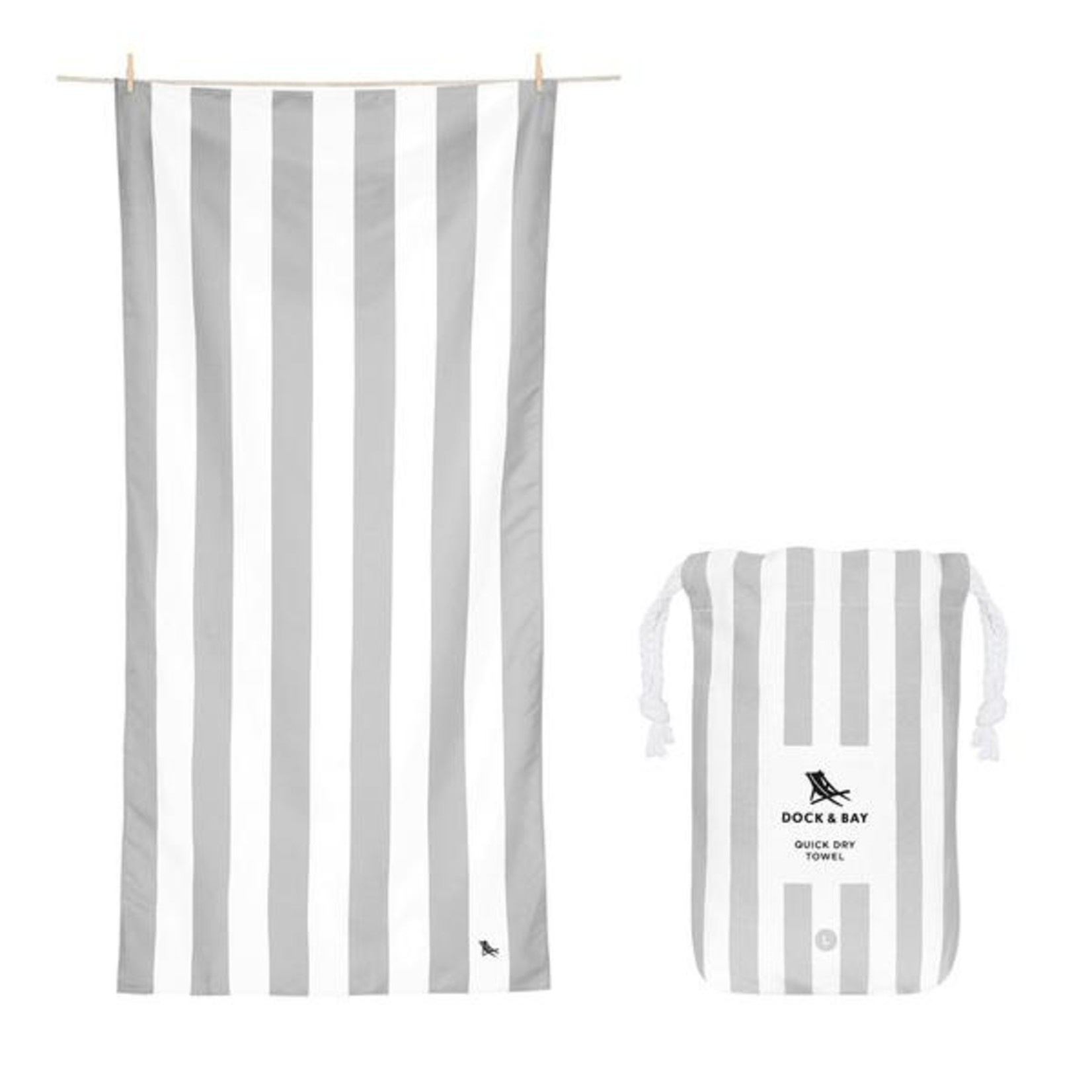 Dock & Bay Quick Dry Towels - Striped