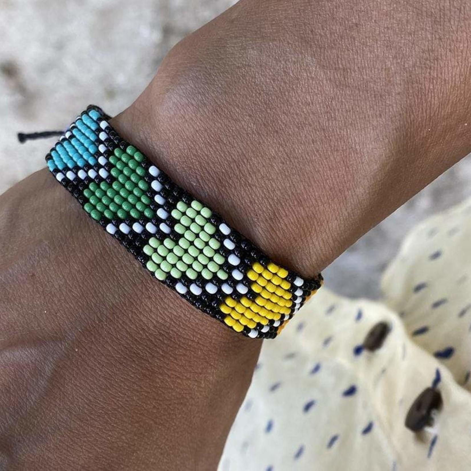 Love Is Project Rainbow River Hearts Bracelet