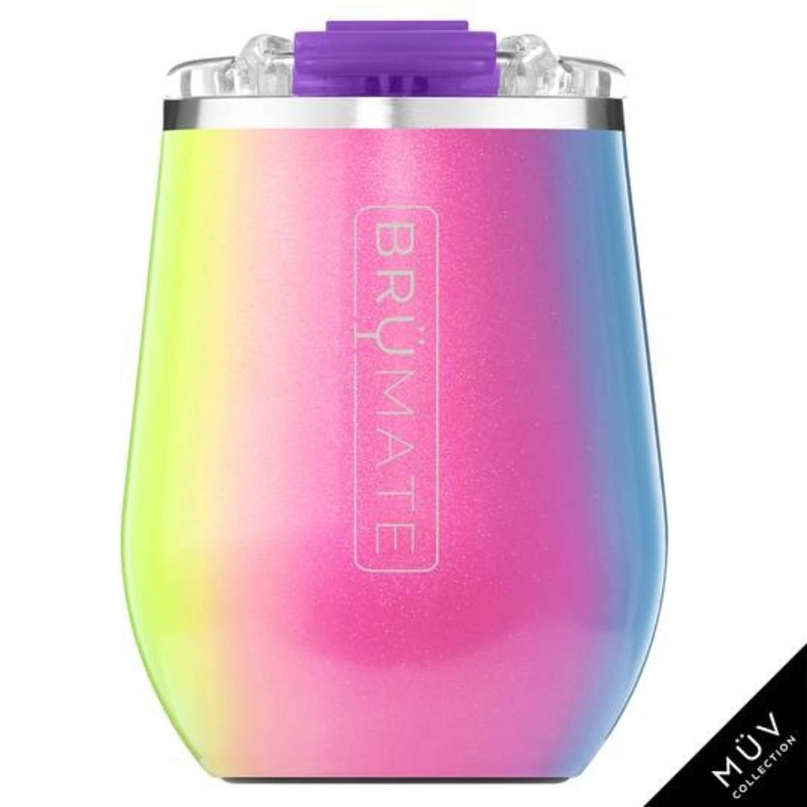 BrüMate Glitter Rainbow Collection