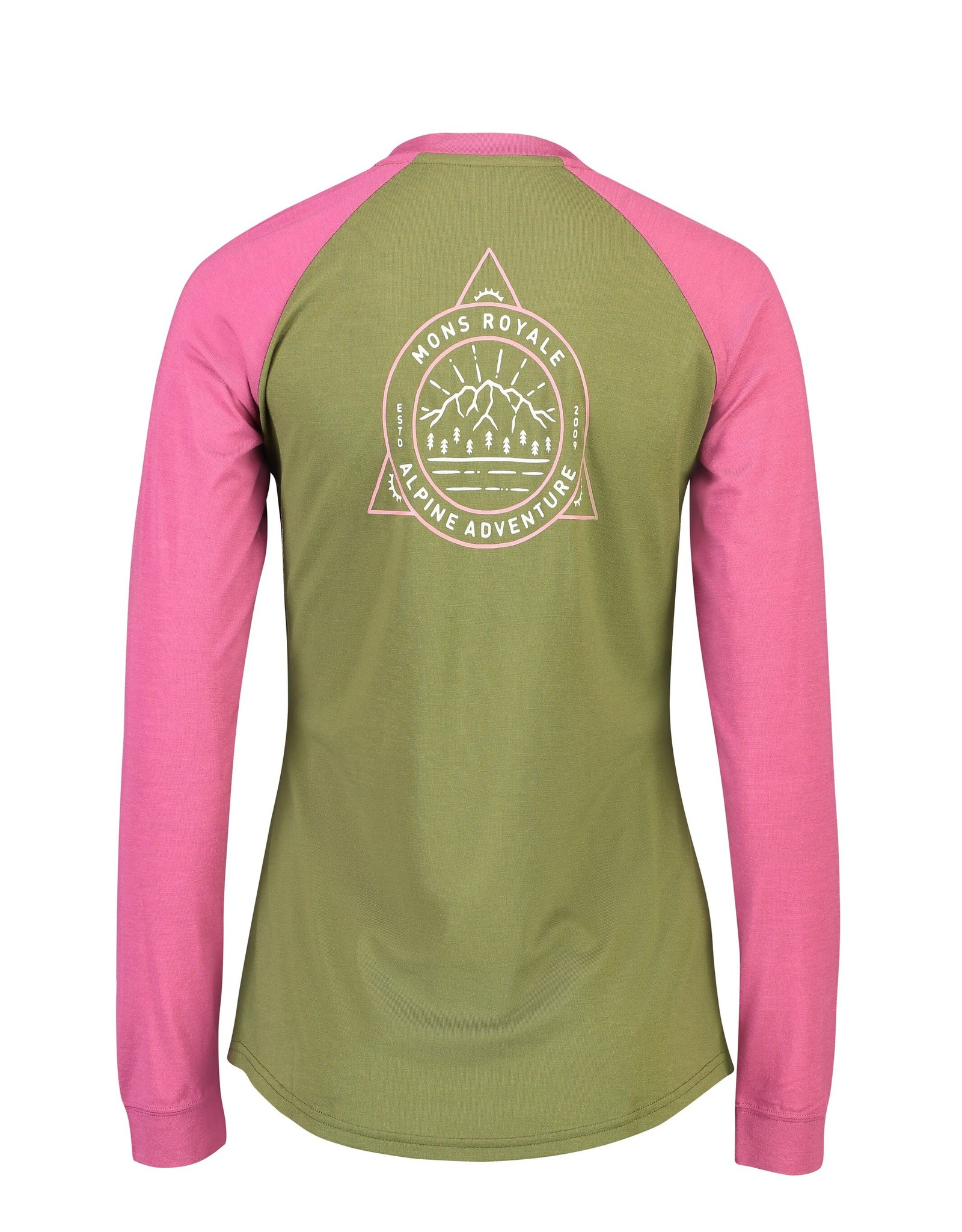 Mons Royale Mons Royale Women's Icon Raglan L/S -S2020