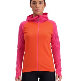 Mons Royale Mons Royale Women's Ascend Midi Full Zip Hood -S2020