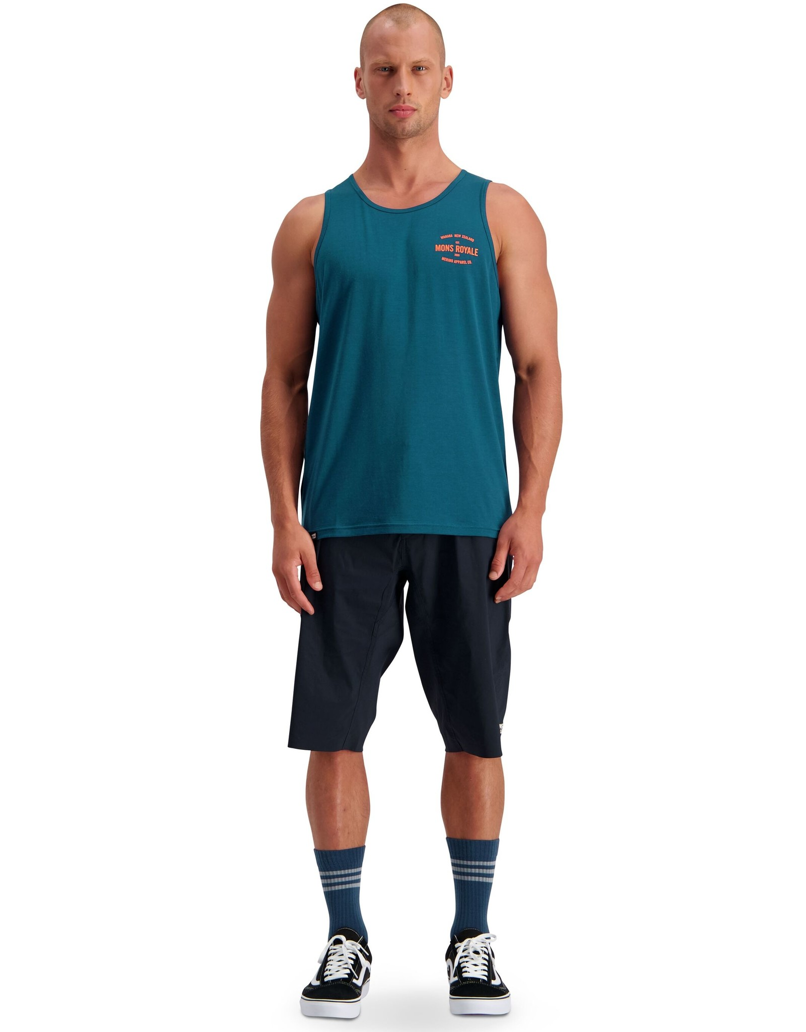 Mons Royale Mons Royale Icon Singlet - S2020