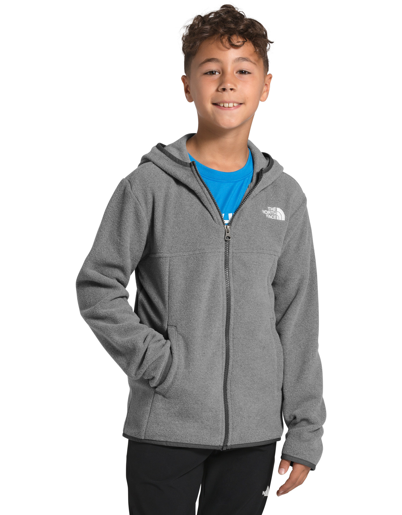 The North Face The North Face Boy's Glacier Full Zip Hoodie - S2020