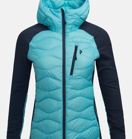 Peak Performance PEAK PERFORMANCE WOMEN'S HELIUM HYBRID HOODED JACKET - S2020