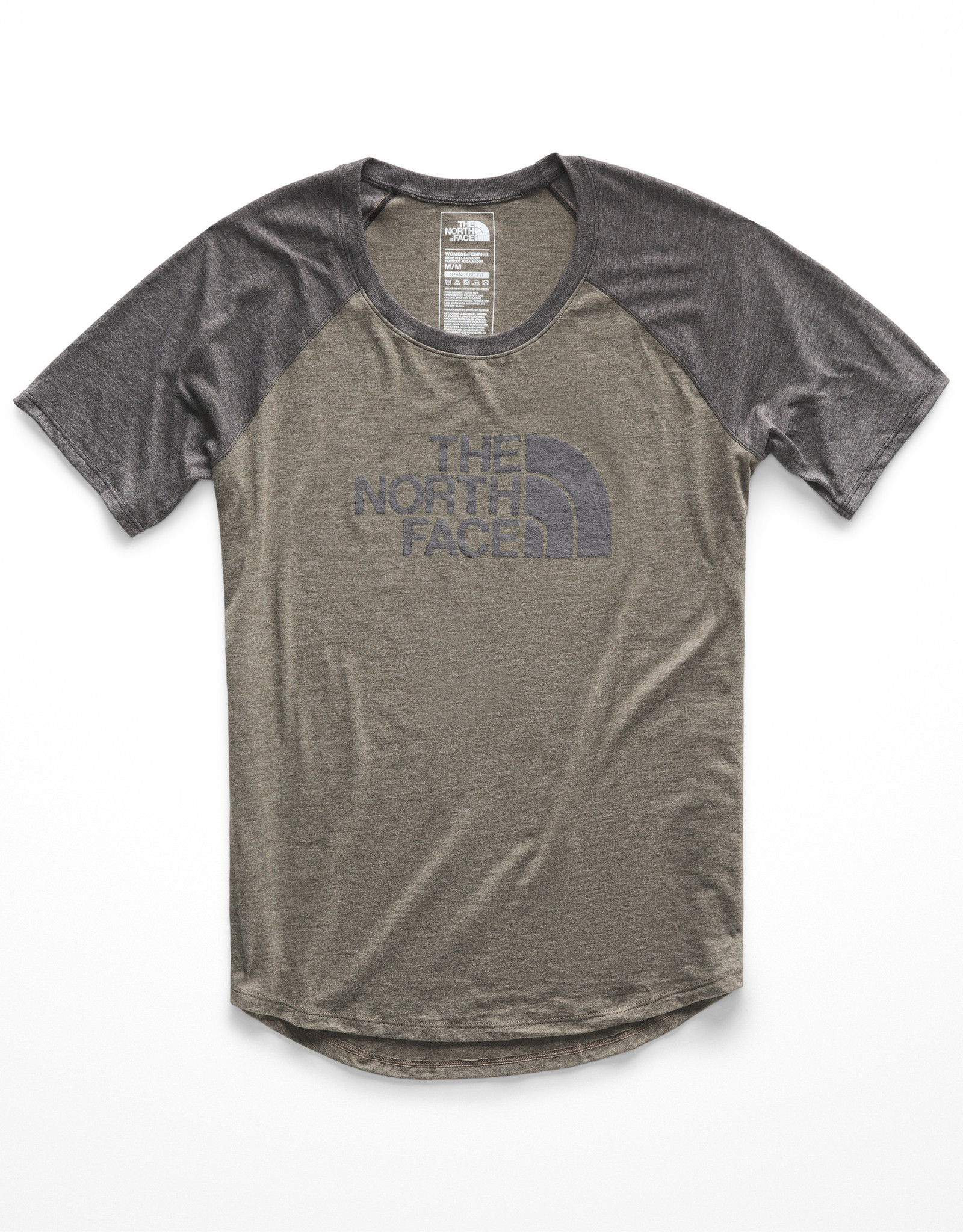 The North Face The North Face Women's S/S Half Dome Graphic Tri-Blend Baseball Tee - S2019