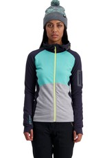Mons Royale Mons Royale Ascend Midi Full Zip Hood-Women's -W2020