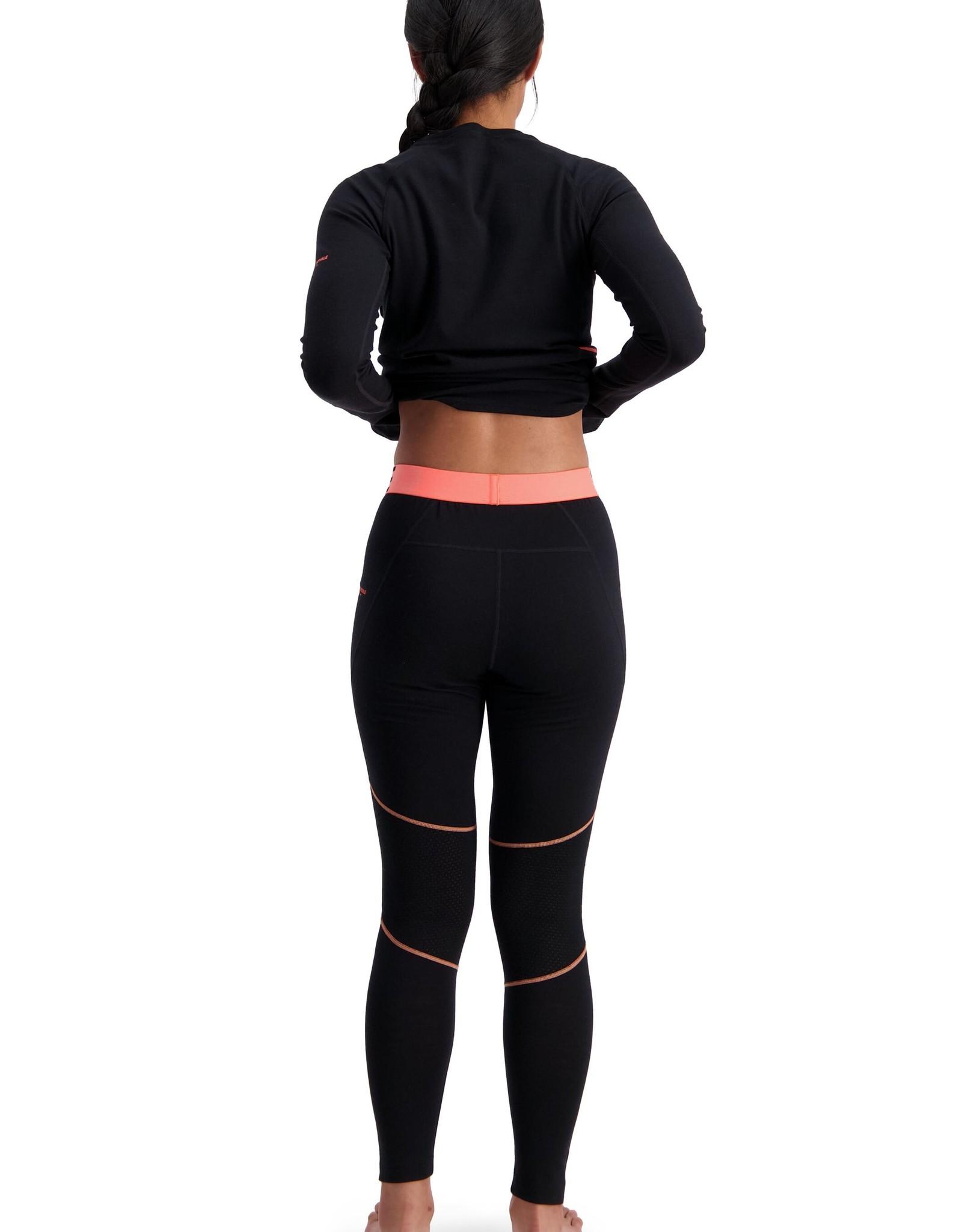 Mons Royale Mons Royale Olympus 3.0 Legging-Black-Women's -W2020