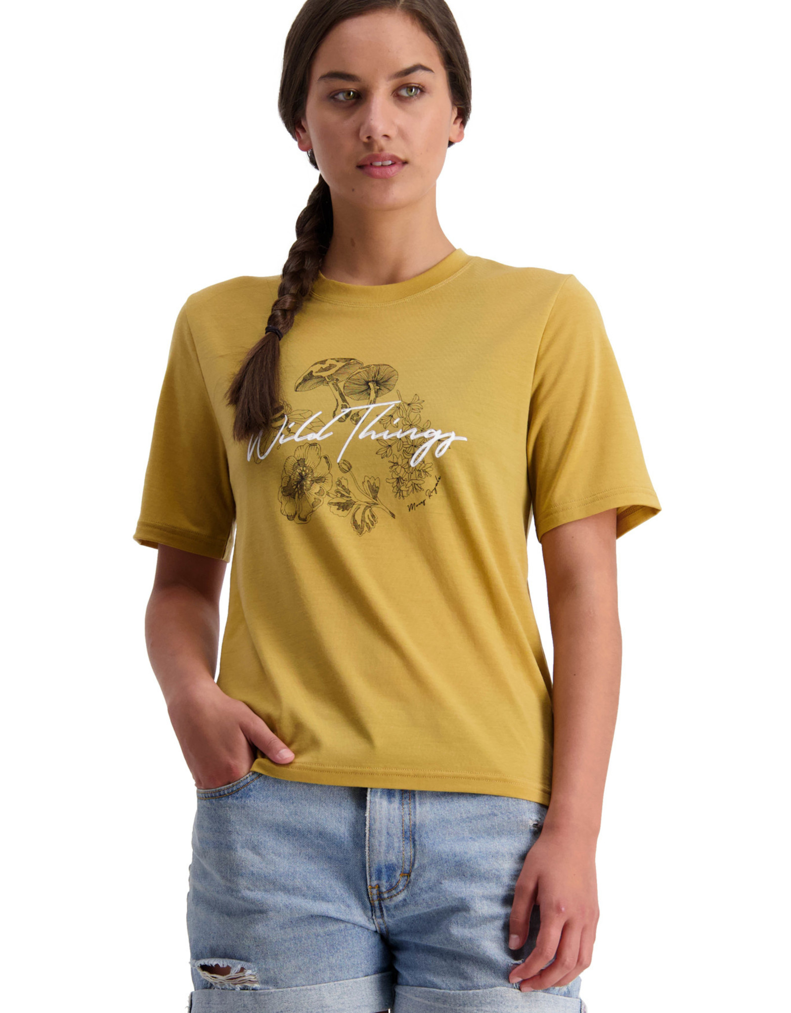 Mons Royale Women's Icon Relaxed Tee -S2021