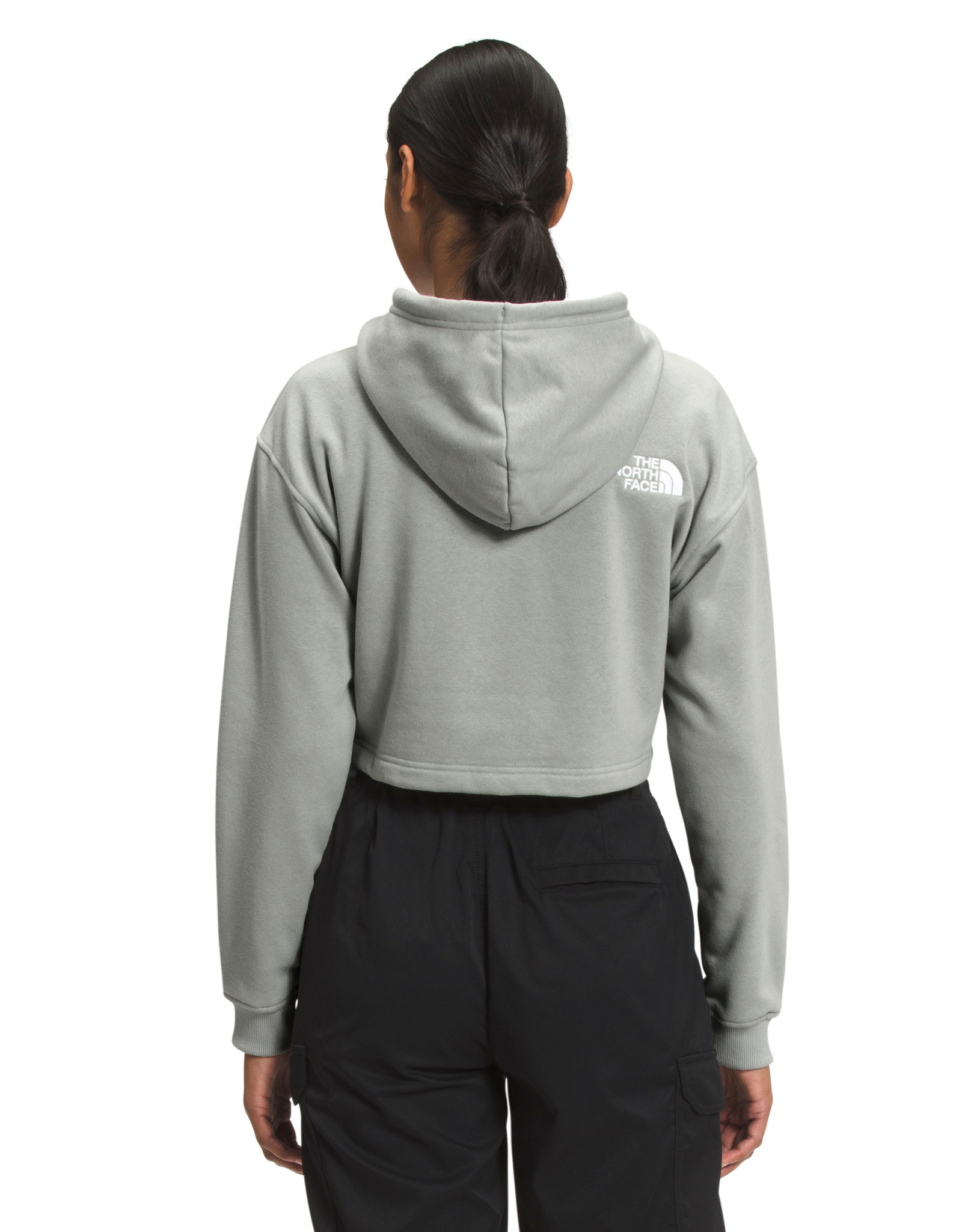 The North Face The North Face Women's Logo Crop Drop Hoodie -S2021