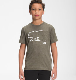 The North Face The North Face Boy's S/S Tri-Blend Tee -S2021