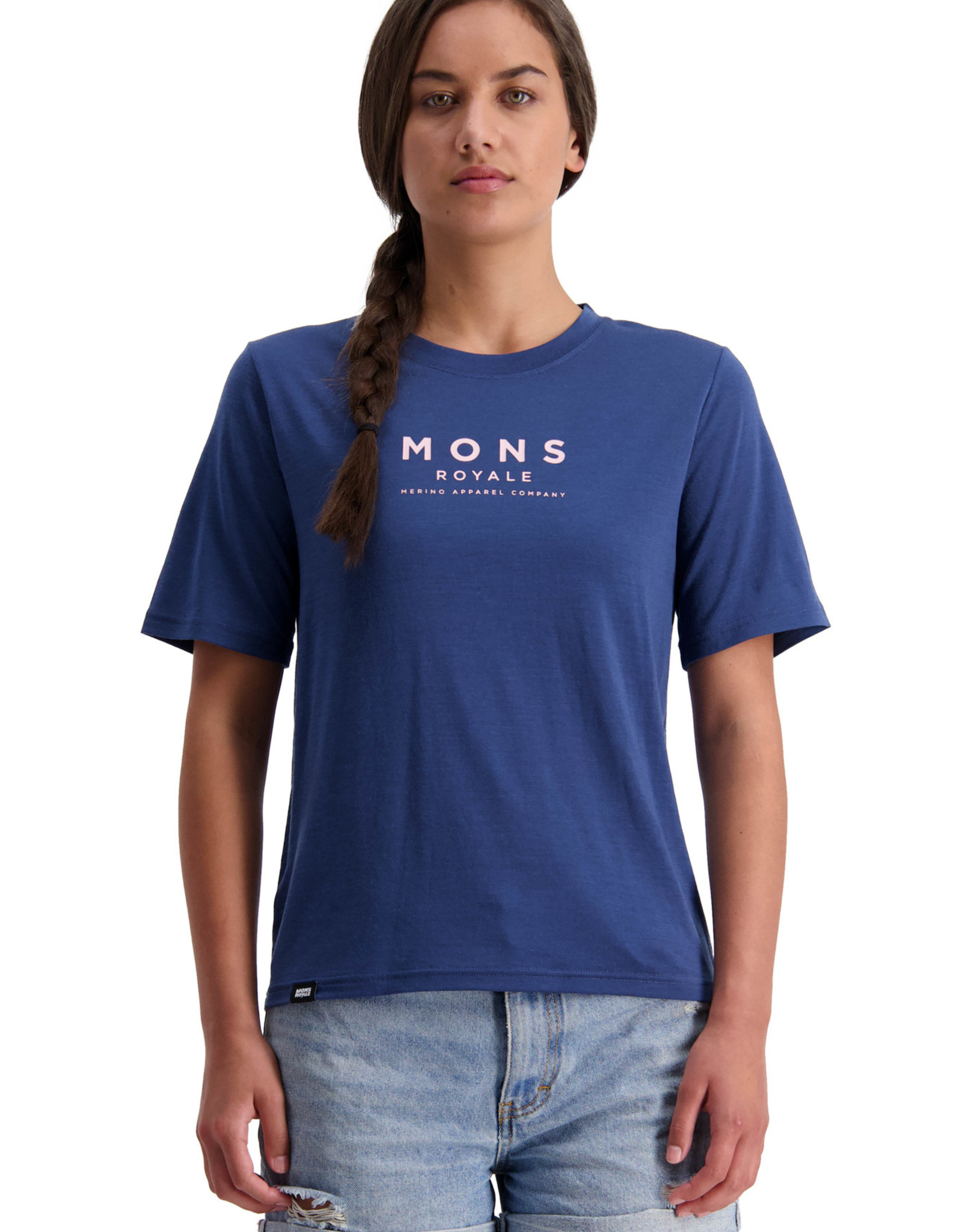 Mons Royale Mons Royale Women's Icon Relaxed Tee -S2021