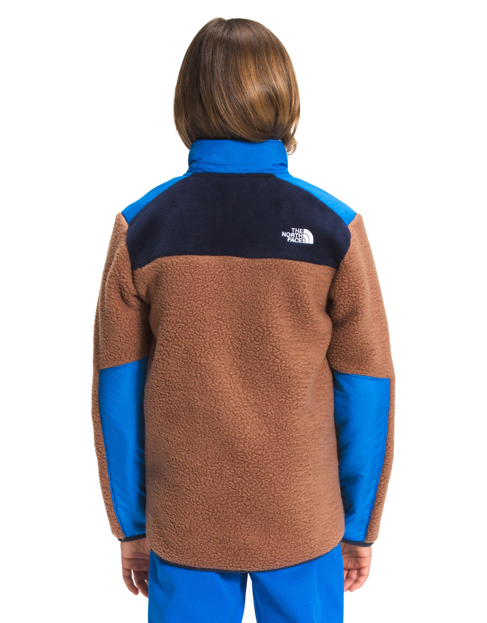 The North Face The North Face Boy's Forrest Mixed-Media Full Zip Jacket -W2022