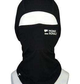 Mons Royale Mons Royale Santa Rosa Merino Flex 200 Balaclava-Black -W2022