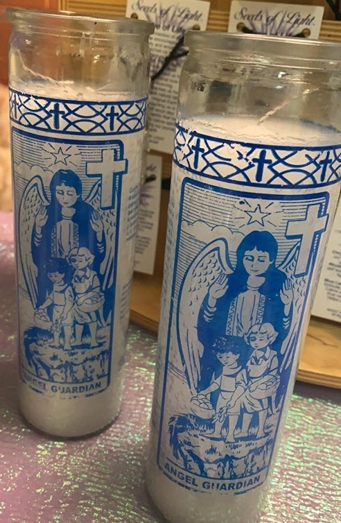 7 DAY GUARDIAN ANGEL  CANDLE