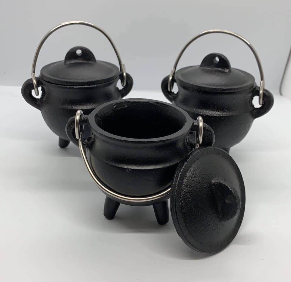 CAULDRON CAST IRON (MINI)