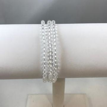 POWER MINI 4MM BRACELET - CLEAR QUARTZ