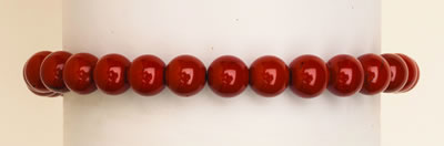BRACELET POWER SIX - RED JASPER  6MM